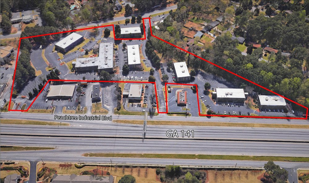9.8 Acres Peachtree Industrial Blvd, Doraville, Georgia 30360