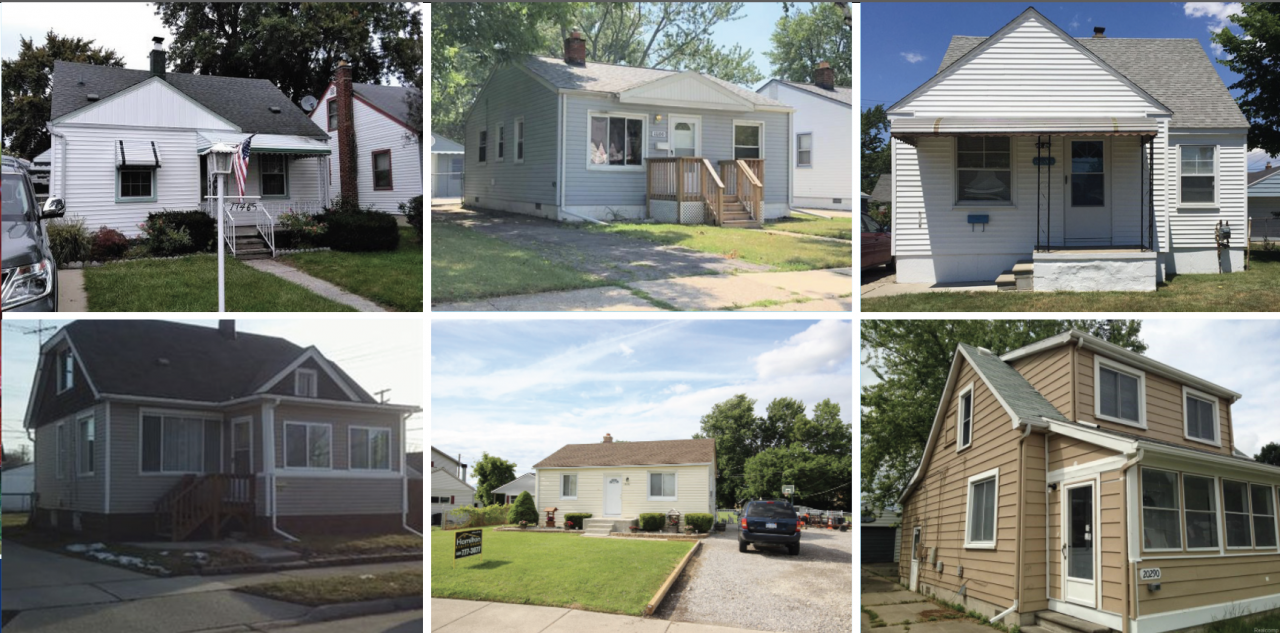30 Home SFR Investment Portfolio, Roseville, Michigan 48066